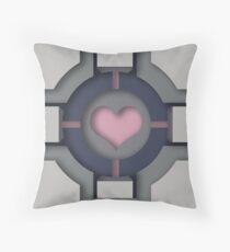Companion Cube Throw Pillow