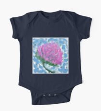 Red Clover Flower Kids Clothes