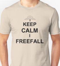 Keep Calm I Freefall Unisex T-Shirt