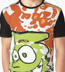 Warped Man Vector Graphic T-Shirt
