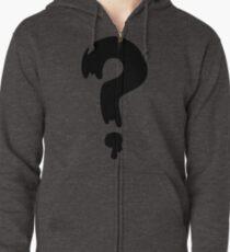 Gravity Falls Question Mark Zipped Hoodie