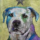 Pit Bull Terrier by Michael Creese