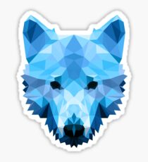 Ice Wolf  Sticker