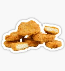 chicken nugget Sticker