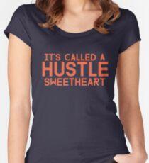Err Day I'm HUSTLIN' Women's Fitted Scoop T-Shirt