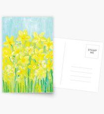 Happy Flowers Postcards