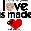 Love is Made of Heart by Multnomah ESD Outdoor School