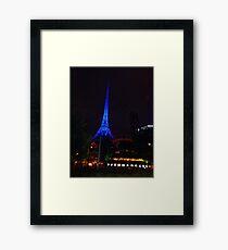 Arts Centre Spire Framed Print