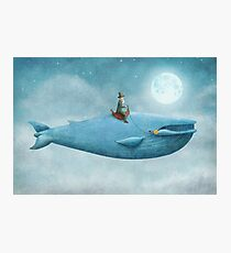 Whale Rider  Photographic Print