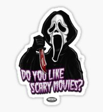 Ghostface Sticker