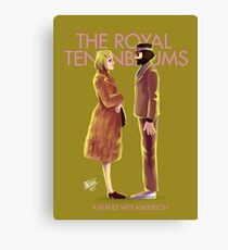 The Royal Tenenbaums by Wes Anderson Canvas Print