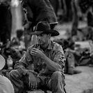 Smoking Cowboy by Natalie Ord