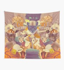 Cats n Books n Books n Cats Wall Tapestry