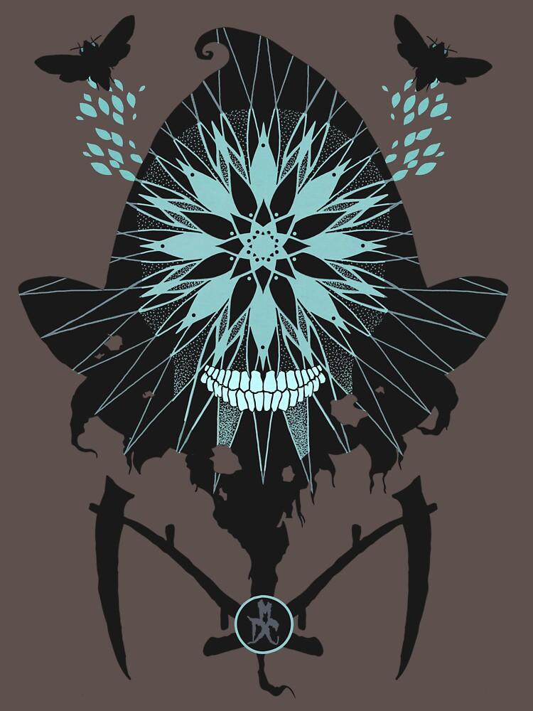 Flight of the Reaper Moth by mdcindustries