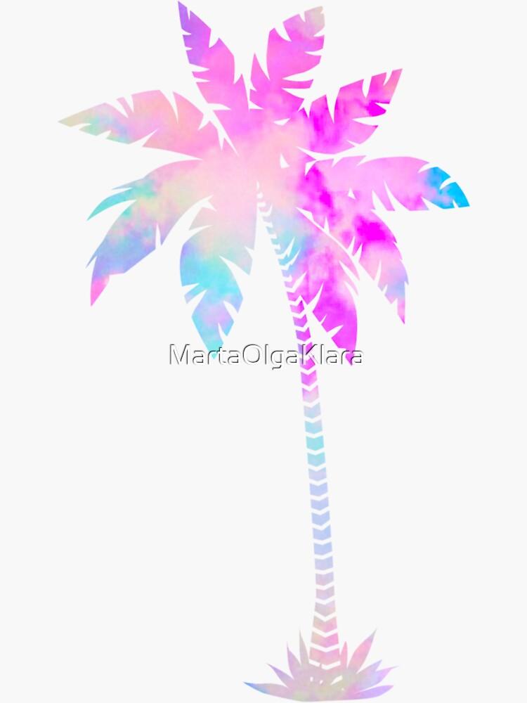 Patrón de palmera de MartaOlgaKlara