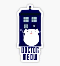 doctor meow Sticker
