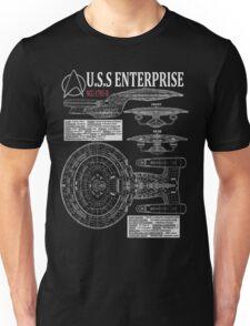 PICARDS ENTERPRISE NCC1701D  Unisex T-Shirt
