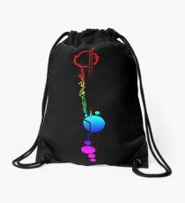 Lexa's Tattoo (Rainbow) Drawstring Bag