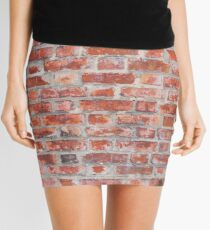 Brick wall Mini Skirt