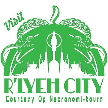 Visit R'lyeh City by Tee-Frenzy