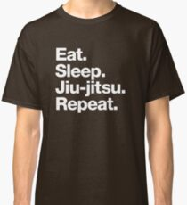 Eat. Sleep. Jiu-jitsu. Repeat. Classic T-Shirt