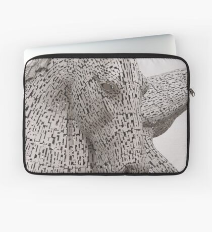The Kelpies , Helix Park , Falkirk Laptop Sleeve