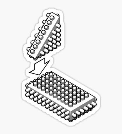Bricking It Sticker