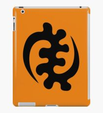 gye nyame africa symbol ghana iPad Case/Skin