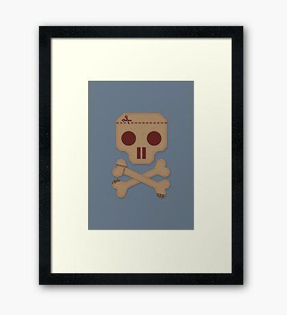 Paper Pirate Framed Print