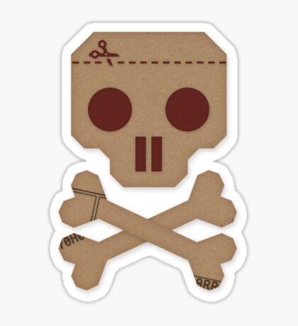 Paper Pirate Sticker