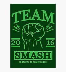 Team Smash Photographic Print
