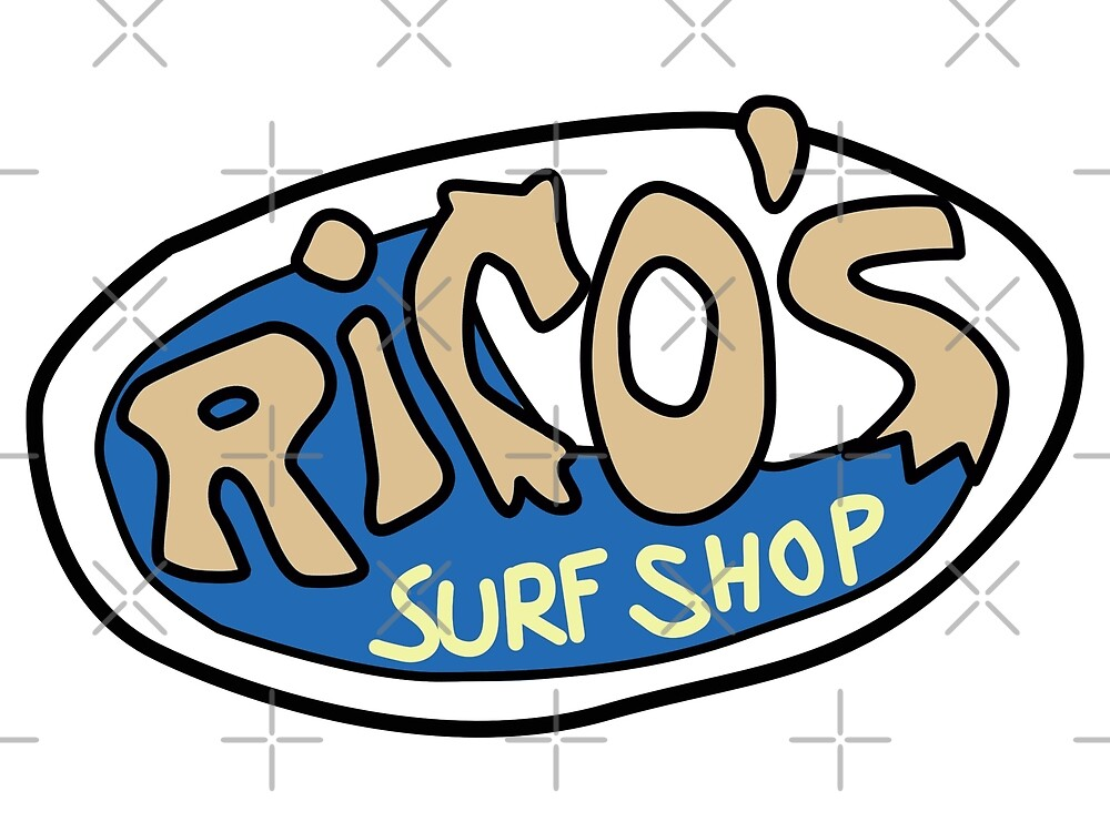 Rico's Surf Shop Logo by miamulin57