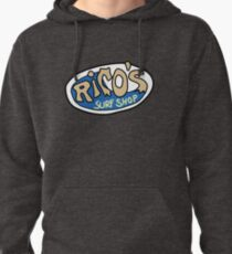 Rico's Surf Shop Logo Pullover Hoodie