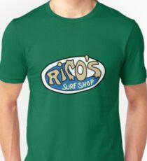 Rico's Surf Shop Logo Unisex T-Shirt