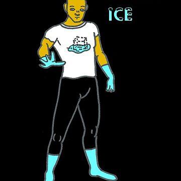 Inviso Ice of the Icetone Defense Squad by theunaveragejoe