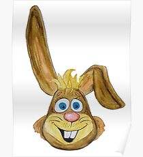 Hase / rabbit Poster