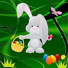 The Easter Bunny  by Ana Belaj