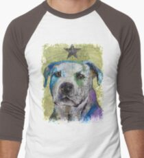 Pit Bull Terrier Men's Baseball ¾ T-Shirt