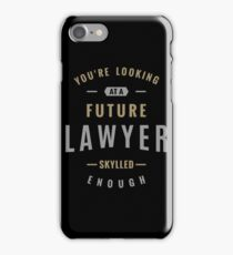 Future Lawyer iPhone Case/Skin