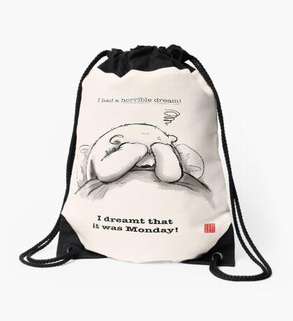 Horrible Dream Drawstring Bag