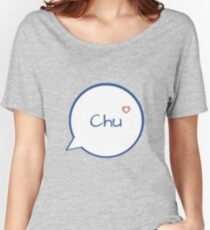 CHU - LIGHT BLUE Women's Relaxed Fit T-Shirt
