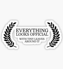 Festival Funny Movies Comedy Quote Clever Smart Sticker