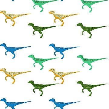Raptors Everywhere by turntechgodhead