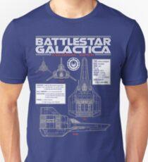 BATTLESTAR GALACTICA COLONIAL VIPER Unisex T-Shirt