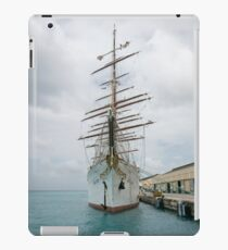 Traditional Sailing Ship, Sea Cloud iPad Case/Skin