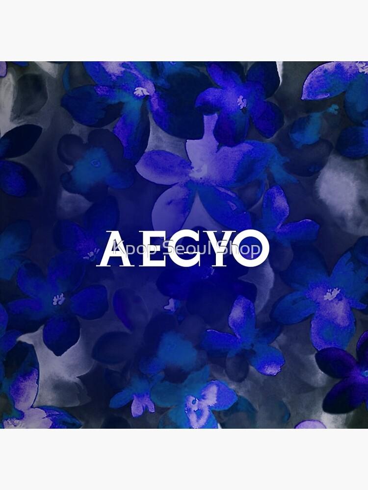 AEGYO - BLAUES BLUMEN von CynthiaAd