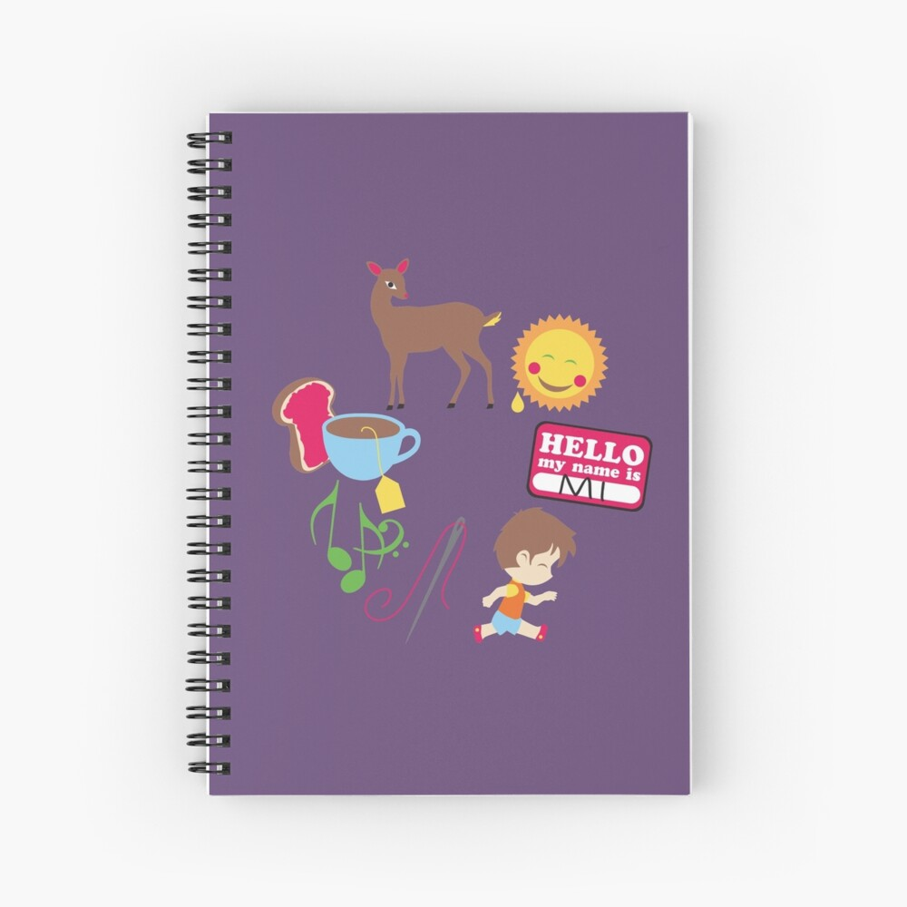 Do Re Mi Spiral Notebook