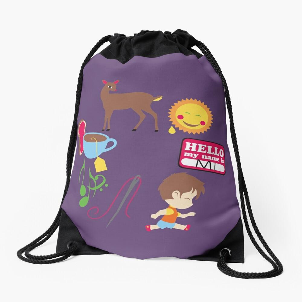 Do Re Mi Drawstring Bag