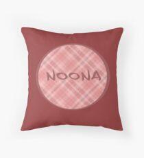 NOONA CIRCLE - ROSA PLAID Dekokissen