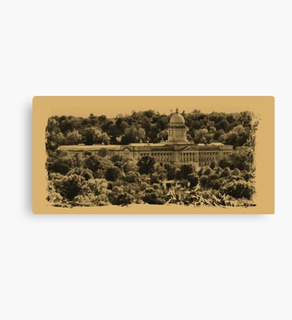 """""""The Kentucky State Capital Building""""... prints and products Canvas Print"""